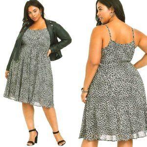 Torrid Size 2 or 18/20 Leopard Dress